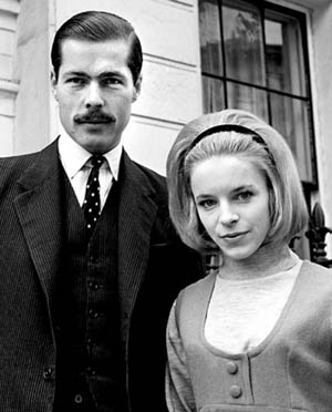 Lord Lucan with wife Veronica Duncan, 1963